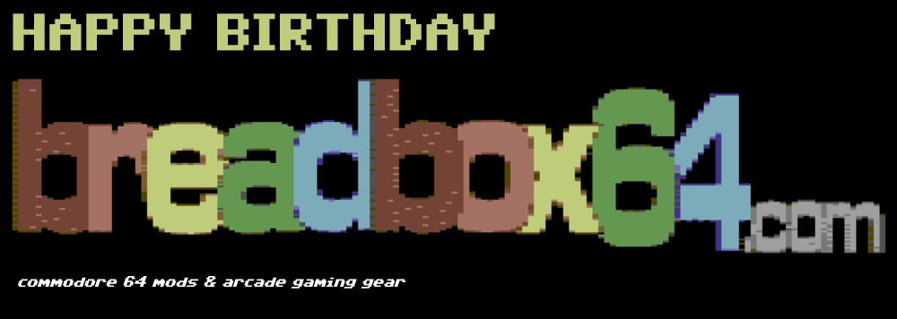Happy 1 year birthday breadbox64.com.