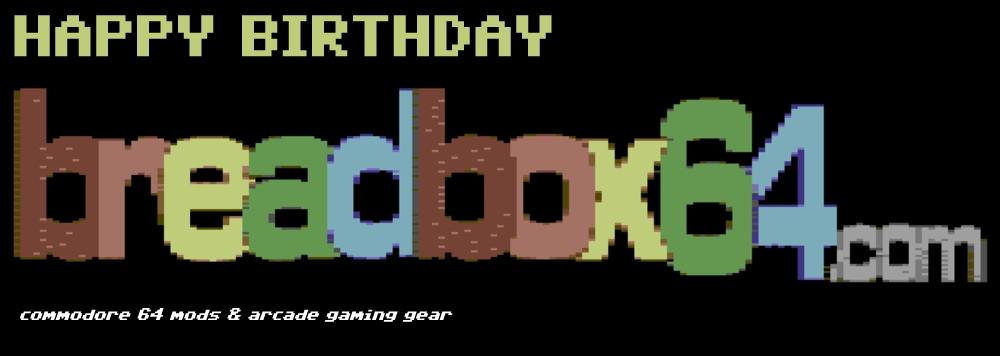 Happy 1 year birthday breadbox64.com.