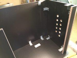 Assembling my arcade machine cabinet.