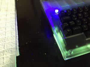 Commodore 64 Power LED mod.