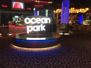 Ocean Park Arcade review on breadbox64.com. The arcade is located in Millenium City Mall in Vienna, Austria