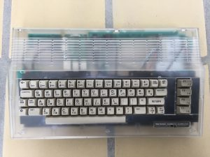 Commodore 64 Raspberry Pi modification using a transparent Kickstarter case. Read more about the mod on breadbox64.com.
