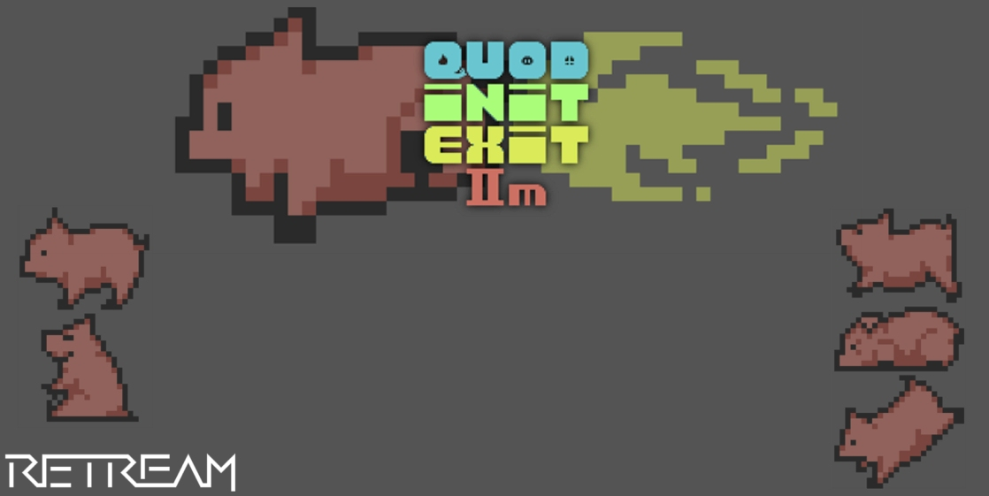 Quod Init Exit IIm Commodore 64 game review on breadbox64.com