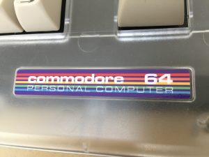 Commodore 64 label modification. New C64C sticker. breadbox64.com