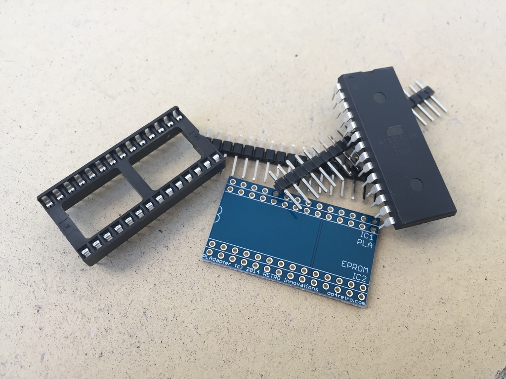 A Plethora Of Plas Commodore 64 Rev Motherboard Schematics From 1982 Making My Own Pla Based On An Eprom Read More Breadbox64