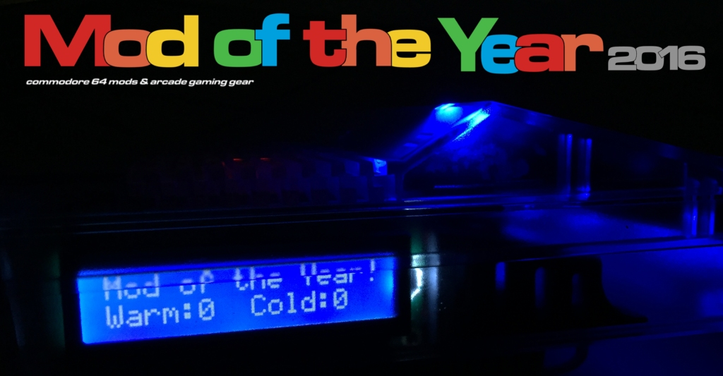 Commodore 64. Mod of the year 2016. Breadbox64.com