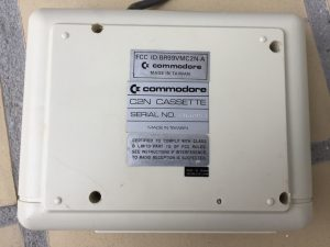 Commodore 1530 Datasette Model C2N. breadbox64.com