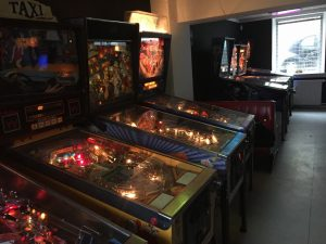 Pinball machines at BIp BIP Bar Arcade. Read the review on breadbox64.com