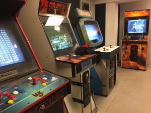 Bip Bip Bar Copenhagen, Denmark. Formerly known as Chassis Arcade. Read more on breadbox64.com