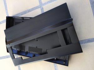 Black Commodore 64 case. Breadbox64.com