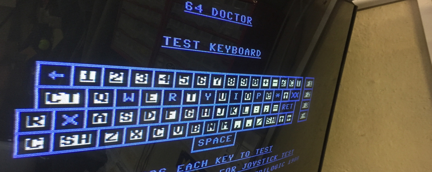 Commodore 64 keyboard missing some of the letters when typing
