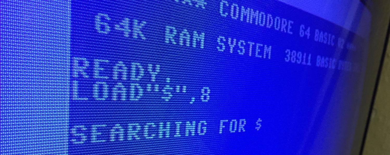 Commodore 64 with no serial port access. breadbox64.com