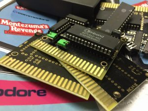Commodore 64 Magic Cart. C64 Cartridge for multiple game titles. breadbox64.com