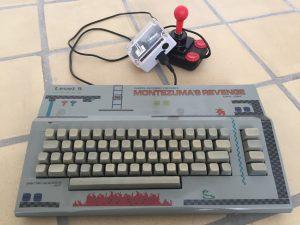 Commodore 64 Mod of the Year 2017. montezuma's Revenge theme. breadbox64.com