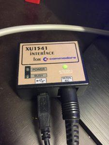 xu1541 device test on breadbox64.com