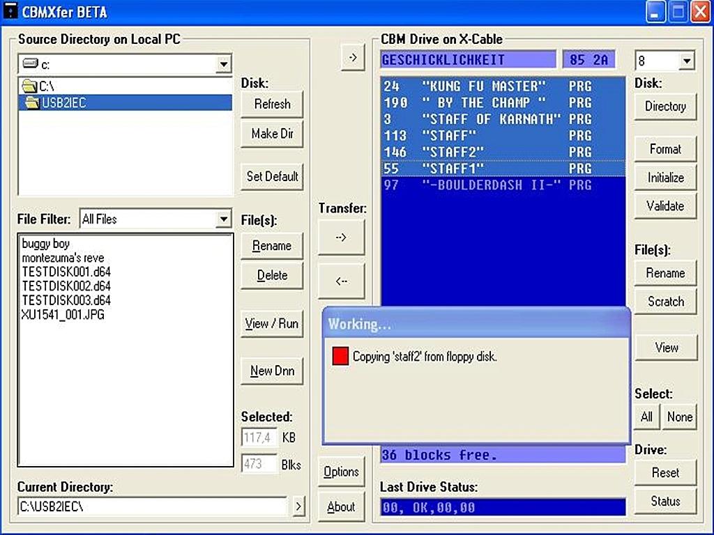 Floppy Backup – breadbox64 com