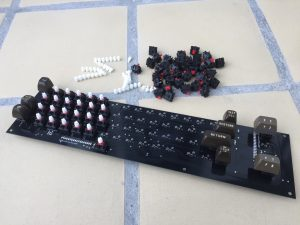 New Commodore 64 keyboard with Cherry mx switches. breadbox64.com