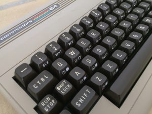New keyboard for the Commodore 64. MechBoard64 mechanical keyboard. breadbox64.com