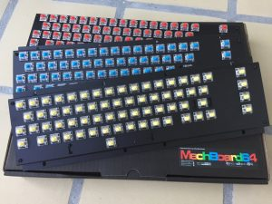 New keyboard for the Commodore 64. Gateron switches. breadbox64.com