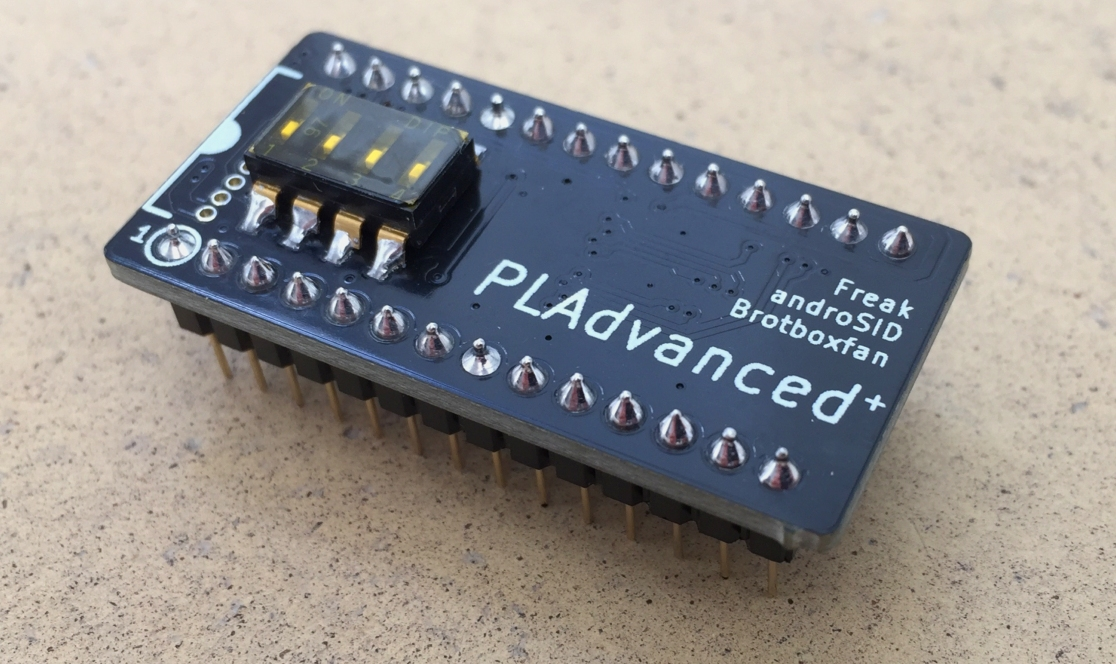 The PLAdvanced+ PLA replacement chip for the commodore 64. review on breadbox64.com