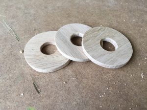 Oak dust washer for Sanwa JLF joystick
