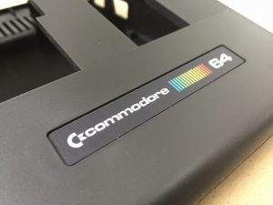 New Commodore 64C slim case in black.
