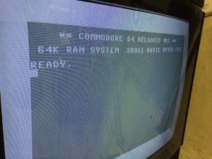 Commodore 64 JiffyDOS on C64 Reloaded MK2. breadbox64.com