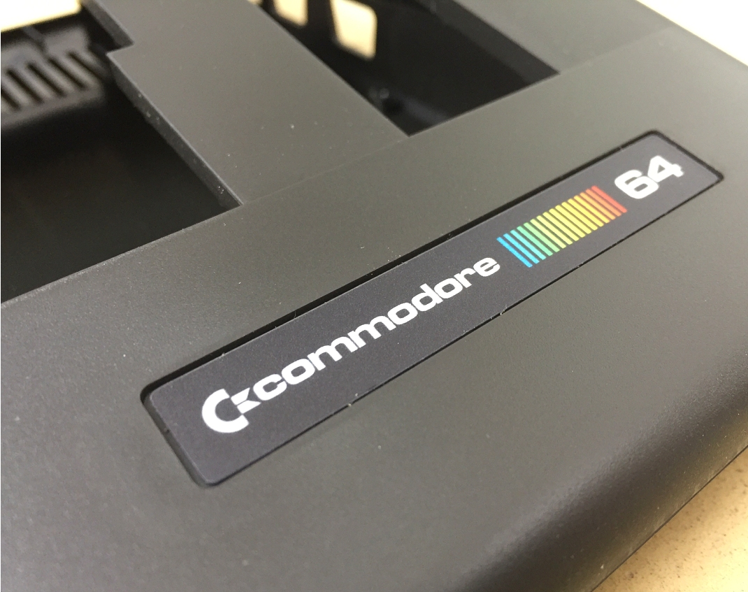 Brand new Commodore 64 cases in retro black. Breadbox64.com.