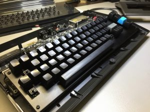 New C64 keycaps for the MechBoard64 keyboard. breadbox64.com