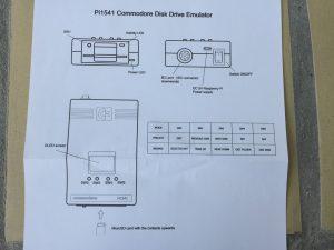 Commodore 64 Pi1541 manual. breadbox64.com