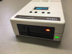 The Commodore Pi1541 Disk Drive. Breadbox64.com