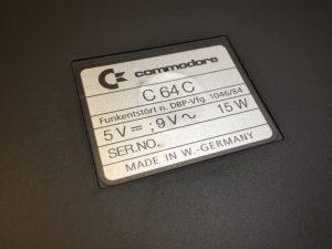 New Commodore 64 case badge, breadbox64.com
