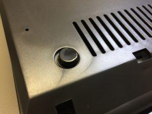Commodore 64C black case feet. breadbox64.com