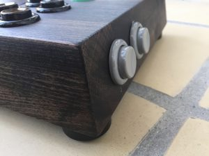 Wooden joystick made for the Xbox adaptive controller. physical disabled gaming. breadbox64.com