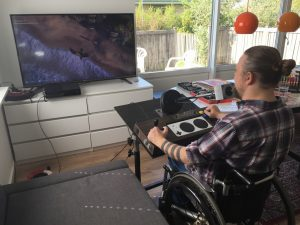 XBOX adaptive controller. Custom joystick for physically disabled. breadbox46.com