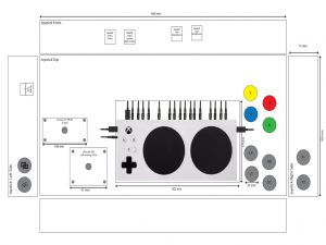 Xbox adaptive controller. breadbox64.com